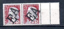 Algérie  Paire N°355 Avec Inter-panneau  EA  Neufs Sans Charniere  MASCARA 1962 Trés Rare - Algeria (1962-...)