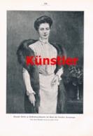 546 Hochzeit Deutscher Kronprinz Wilhelm Artikel Mit 2 Bildern 1905 !! - Stampe