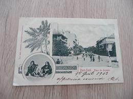 CPA Egypte Port Saïd Place De Lesseps 1903 2 TP Anciens - Port Said