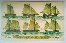 Isle Od Man 11OMEMH Manx Fishing Vessel  1700-1900 - Ver. Königreich