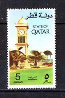 Qatar  - 1974. Orologio Sulla Torretta Di Doha. Clock On The Doha Tower. MNH - Horlogerie