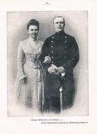 551 Hochzeit Königin Wilhelmine Holland Artikel Mit 1 Bild 1901 !! - Política Contemporánea