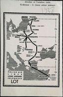 """Publicité Lignes De La LOT  """"Polish Airlines""""   (encadré Photo) Coupure De Presse De 1938 - Advertisements"""