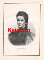 554 Kaiserin Elisabeth Sissi Nachruf Todestag Artikel Mit 1 Bild 1898 !! - Politique Contemporaine