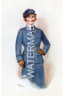 AIR FORCE OLD ART COLOUR POSTCARD WW1 - Weltkrieg 1914-18