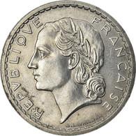 Monnaie, France, Lavrillier, 5 Francs, 1948, Paris, 9 Closed, TTB+, Aluminium - Francia