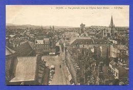 CPA FRANCE 21  ~  DIJON  ~  1  Vue Générale Prise De L'Eglise Saint-Michel  ( ND ) - Dijon