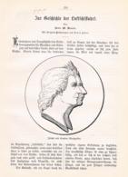 555 Geschichte Der Luftschifffahrt Montgolfier Artikel Mit 5 Bildern 1898 !! - Books, Magazines, Comics