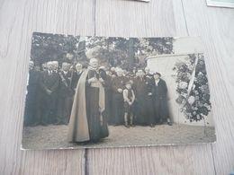 Carte Photo Inauguration De Monument Aux Morts Religieux Personnalités - Postcards
