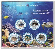 Oman 2019, Postfris MNH, Turtles - Oman