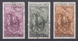 Vatikaan 1966  Mi.nr. 514-516  Weihnachten   OBLITÉRÉS-USED-GEBRUIKT - Oblitérés