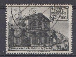 Vatikaan 1949  Mi.nr. 154   Basiliken   OBLITÉRÉS-USED-GEBRUIKT - Vatican