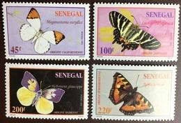 Senegal 1995 Butterflies MNH - Papillons