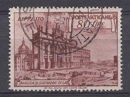 Vatikaan 1949  Mi.nr. 160   Basiliken   OBLITÉRÉS-USED-GEBRUIKT - Vatican