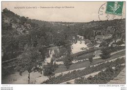 EP 6  - (44)  BOUSSAY  -  PANORAMA DU VILLAGE DE CHAUDRON  -  2 SCANS - Boussay