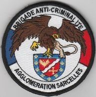 Écusson Police BAC Agglomération Sarcelles (95) - Police