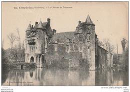 FI 15 - (56)   CAMPENEAC  -  LE CHATEAU DE TRECESSON  -  2 SCANS - Autres Communes