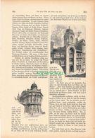 016 Wien Neue Und Alte Zeit Artikel Mit 40 Bildern Von 1886 !! - Sin Clasificación