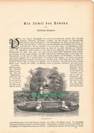 017 Schwetzingen Juwel Des Rokoko Artikel Mit 10 Bildern Von 1886 !! - Baden -Wurtemberg