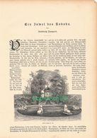 017 Schwetzingen Juwel Des Rokoko Artikel Mit 10 Bildern Von 1886 !! - Sin Clasificación