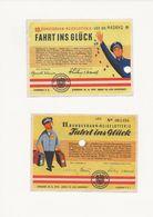 BILLET  DE LOTERIE - Lottery Tickets