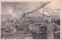 Charleroi - Souvenir Du Pays Noir - Circulé En 1941 - Animée - Wagon De Mine - TBE - Braine-le-Comte