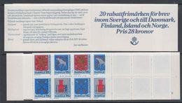 Sweden 1982 Rabattmarken Booklet ** Mnh (47980B) - Carnets