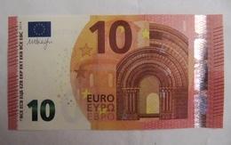 💶 10 EURO W001 D2 Germany UNC Draghi WA - EURO
