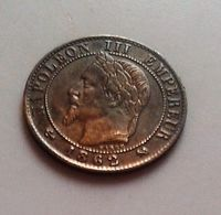 FRANCE  1 CENTIME 1862 K NAPOLEON III    N° 6 - A. 1 Céntimo