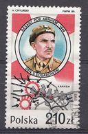 POLEN 1989  Mi.Nr.: 3223  Einsätze Polnischer Truppen In...  USED / GEBRUIKT / OBLITERE - 1944-.... Republik