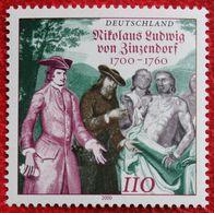 110 Pf Nikolaus Ludwig Graf Von Zinzendorf 2000 Mi 2115 Neuf Sans Charniere POSTFRIS MNH ** Germany / BRD / Allemange - Unused Stamps