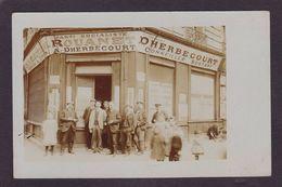 CPA à Identifier Carte Photo Parti Socialiste Rouanet DHERBECOURT 1908 Aude ? Hérault ? - Postcards