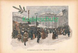 037 Weihnachten In Wien Artikel Mit 7 Bildern Von 1894 !! - Austria
