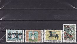 Kinderzegels Child Welfare Enfants Kinder NVPH 1079-1082 (Mi 1059-1062) 1975 Used - Period 1949-1980 (Juliana)