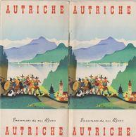 Autriche, Dépliant Touristique, 60 Pages+photos. - Tourism Brochures