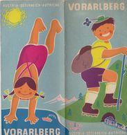 Vorarlberg, Dépliant Touristique, Voir Les Scans. Autriche.. - Tourism Brochures