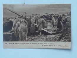 Serbia Srbia 690 Artiljerija Artillerie 1915 Ed Mathiere - Serbie