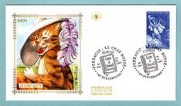 FDC France 1997 - Europa  1997 - Le Chat Botté De Charles Perrault - YT 3058 - 67 Strasbourg - FDC