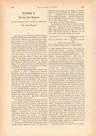 046 Ludwig I. König Von Bayern München Artikel Mit 14 Bildern Von 1887 !! - Política Contemporánea