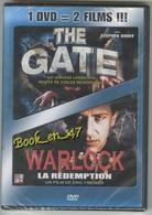 """{42491} 1 DVD 2 Titres """" The Gate """" """" Warlock , La Rédemption """" - DVDs"""