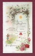 050620 - CALENDRIER PETIT FORMAT 1902 Image Pieuse 12 Mois Pl 84 DP - Pélerinage De La Vie édition Pontificale - Calendriers