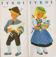Tyrol, Dépliant Touristique, Voir Les Scans. Autriche.. - Tourism Brochures