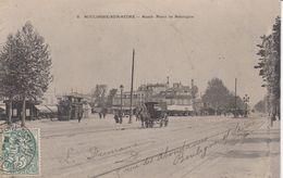 92 - Boulogne-sur-Seine - Le Rond Point De Boulogne Animé - Attelage - Other Municipalities