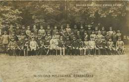 050620A - CARTE PHOTO Grandes Manoeuvres D'armée En 1908 Missions Militaires étrangères  - Médaille - Manoeuvres