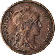 Monnaie, France, Dupuis, 10 Centimes, 1915, Paris, TB+, Bronze, Gadoury:277 - Francia