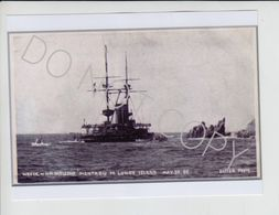 BA19. Lundy Island HMS Montague Photo Produced By Mortimer Batten Ilfracombe X 4 - Boats
