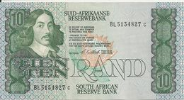 AFRIQUE DU SUD 10 RAND ND1981-90 AUNC P 120 Sign6 - Südafrika
