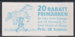 Sweden 1987 Rabattmarken Booklet (unopened) ** Mnh (47982A) - Carnets