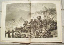 064 Gesellschaft Rettung Schiffbrüchiger Artikel Mit 1 Großen Bild Von 1881 !! - Books, Magazines, Comics
