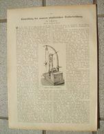 067 Tiefseeforschung Tiefseelotung Artikel Mit 3 Bildern Von 1905 !! - Other